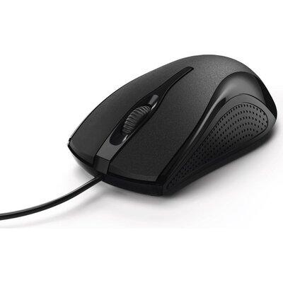 Оптична мишка HAMA MC-200, кабел 1.5 м, USB, 1200 dpi, 3 бутона, Черен