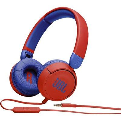 Слушалки за деца JBL JR310, Червен