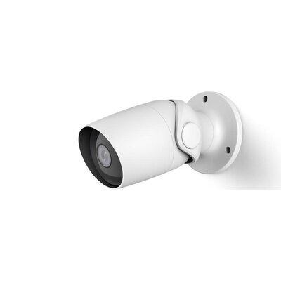 Камера за наблюдение HAMA, 1080p WiFi, Сензор за движение/звук, Нощно наблюдение, Бял