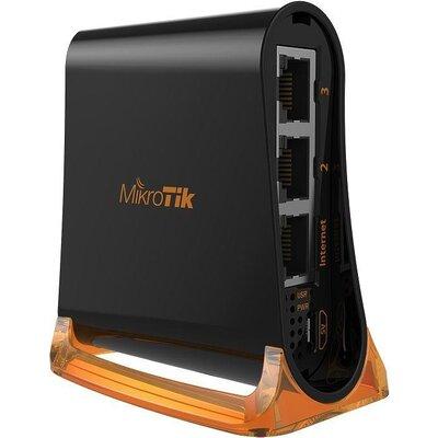 Безжичен Access Point MikroTik HAP mini RB931-2ND, 32MB RAM, 3xLAN, built-in 2.4Ghz 802.11b/g/n, tower case
