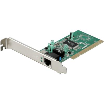 Мрежова карта D-Link DGE-528T, PCI, 10/100/1000 Gigabit Ethernet, low profile