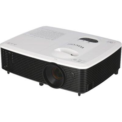 Видеопроектор RICOH S2440,DLP, 800 x 600(SVGA), 3000 ANSI, 10 000:1, HDMI, MHL