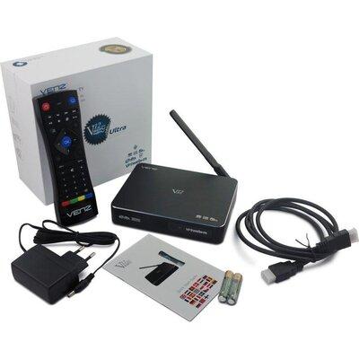Мултимедиен плеър VENZ V12 Ultra, 4K HDR, Amlogic S912, 3GB DDR3, Wi-Fi, LAN RJ45