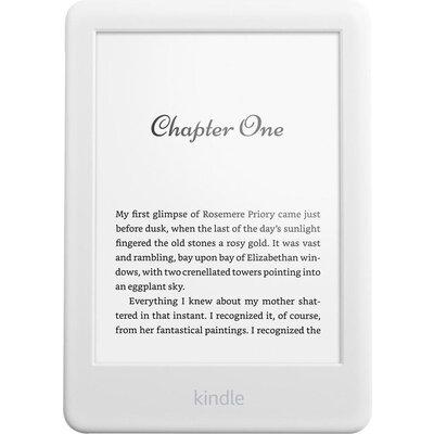 """eBook четец Kindle 2019, 6"""", 8GB, WiFi, 10 генерация, Bluetooth, Бял"""