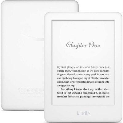 """eBook четец Kindle 2019, 6"""", 8GB, WiFi, 10 генерация, Бял"""