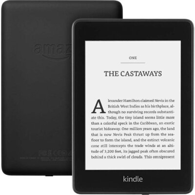 "eBook четец Kindle Paperwhite 6"", 8GB, 7 генерация, 2018, Черен"