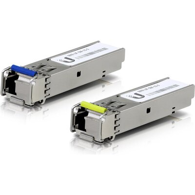 Ubiquiti U Fiber Single-Mode - SFP (mini-GBIC) transceiver module - Gigabit Ethernet - 1000Base-BiDi (pack of 2)