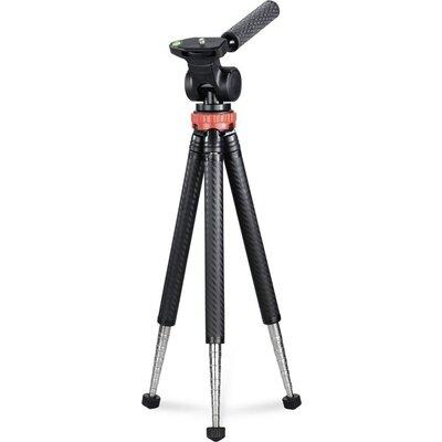 Трипод HAMA Traveller Pro, за смартфони, GoPros,фото камери, 106 см, 2D, Черен