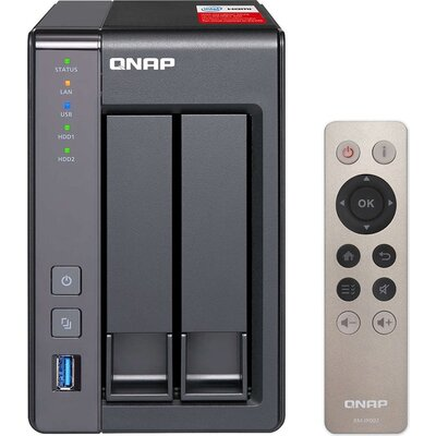 NAS STORAGE TOWER 2BAY 2GB/TS-251+-2G QNAP QN