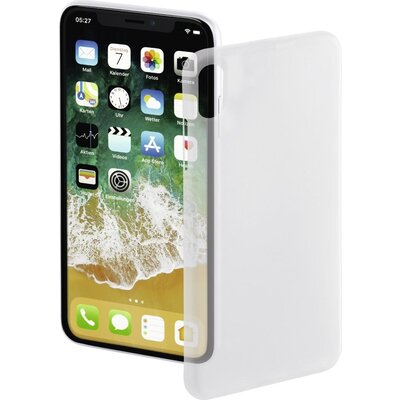 Гръб HAMA Ultra Slim за Apple iPhone X, бял - HAMA-181393