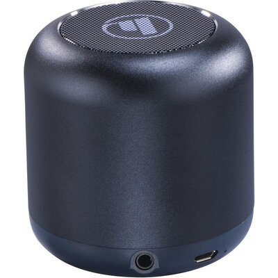 Безжична смарт тонколона HAMA Drum 2.0, Bluetooth, 3.5mm жак, 3.5W, Tъмно синьо
