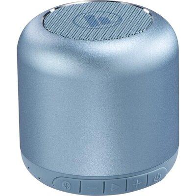 Безжична смарт тонколона HAMA Drum 2.0, Bluetooth, 3.5mm жак, 3.5W, Светло синьо