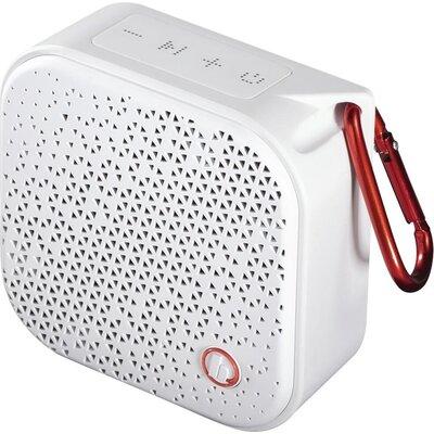 Блутут мобилна колонка HAMA Pocket 2.0, Водоустойчива, 3.5W, Бяла