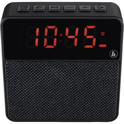 Блутут мобилна колонка HAMA Pocket Clock, черен - HAMA-173120