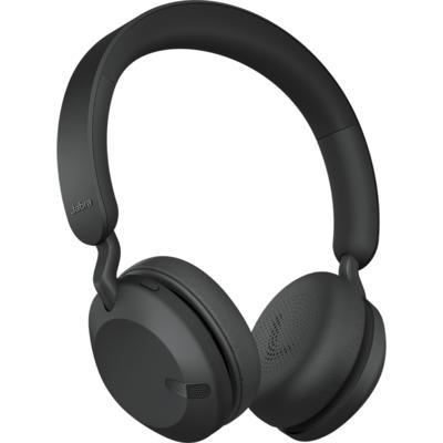 Блутут слушалки Jabra Elite 45h Full Black