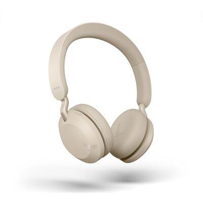 Блутут слушалки Jabra Elite 45h Gold Beige