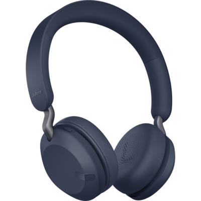 Блутут слушалки Jabra Elite 45h Navy