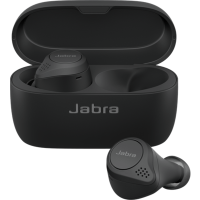 Блутут слушалки Jabra Elite 75t Titanium Black - 100-99090000-60