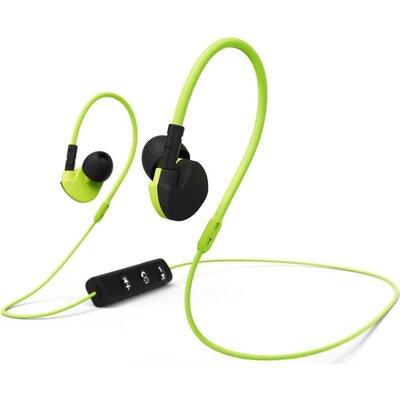 Спортни слушалки HAMA Active BT 177095, In-Ear, Bluetooth, Микрофон, Черен/Жълт