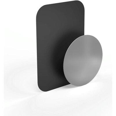 Метална плочка за магнитна стойка HAMA Magnet, Черен/Сребрист