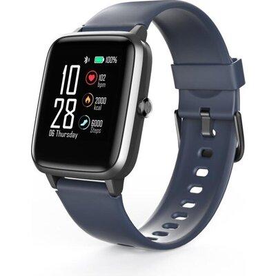 "Смарт часовник Hama Fit Watch 4900, 1.3"", Пулс, Пeдометър, Калории, Водоустойчив, Черен"