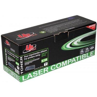 Тонер касета UPRINT Q2612A/EP703, HP/CANON, Черен