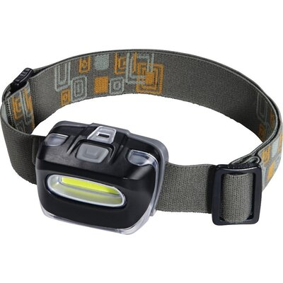 Челник/Фенер LED HAMA COB 110, Черен - HAMA-136694