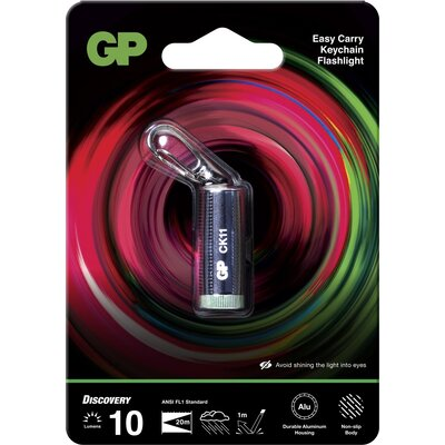 Фенер ключодържател GP BATTERIES CK11, LED 10 лумена