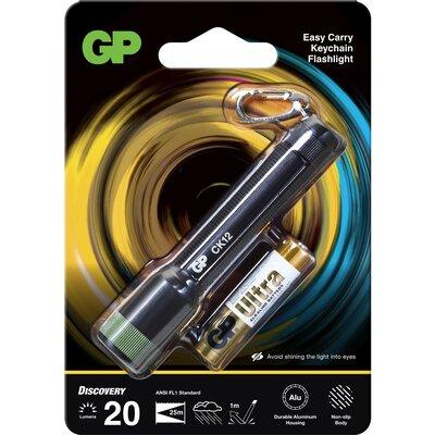 Фенер  ключодържател GP BATTERIES CK12, LED 20 лумена - GP-F-CK12
