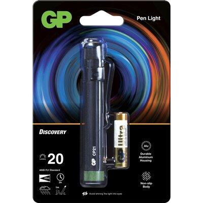 Фенер с форма на писалка GP BATTERIES  Discovery LED CP21 20 лумена