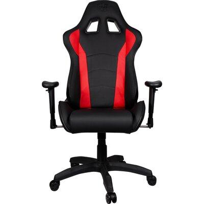 Геймърски стол Cooler Master Caliber R1 Gaming Chair Red