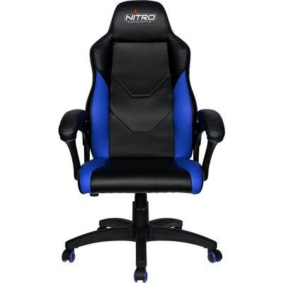 Геймърски стол Nitro Concepts C100 - Black/Blue