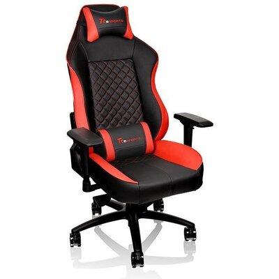 Геймърски стол TteSports GT Comfort, Черен/Червен