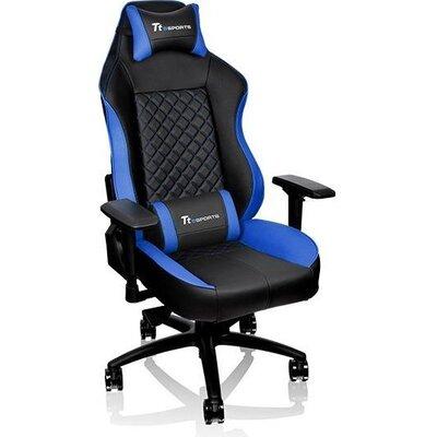 Геймърски стол TteSports GT Comfort, Черен/Син