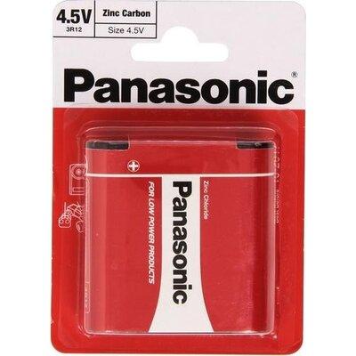 Цинк карбонова батерия GP  3R12 /1 бр. в опаковка/ блистер  4.5V PANASONIC