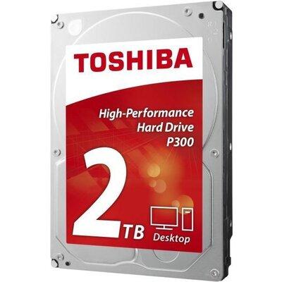 Хард диск TOSHIBA P300, 2TB, 7200rpm, 64MB, SATA 3 - HDWD120UZSVA