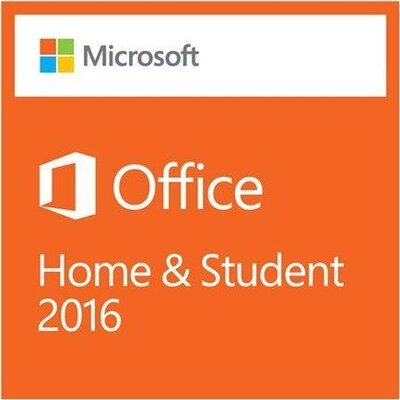 Софтуер Microsoft Office Home and Student 2016 English