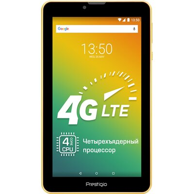 "Prestigio Wize 3437 4G, PMT3437_4G_C_WN_BG, Dual SIM, 4G, 7""(1024*600)IPS display, Android 7.0, up to 1.3GHZ quad core, 1GB"