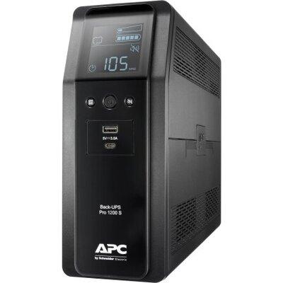 Непрекъсваем ТЗИ APC Back UPS Pro BR 1200VA, Sinewave, 8 Outlets, AVR, LCD interface