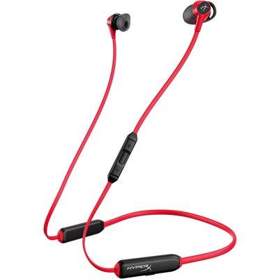 Безжични геймърски слушалки тапи с микрофон HyperX Cloud Buds Wireless, Червен