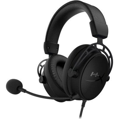 Геймърски слушалки HyperX Cloud Alpha S 7.1 Blackout