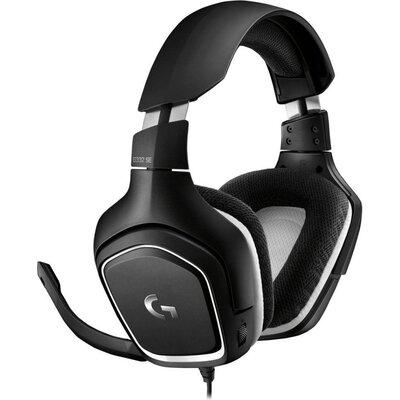 Геймърски слушалки Logitech G332 SE, Микрофон, Черни