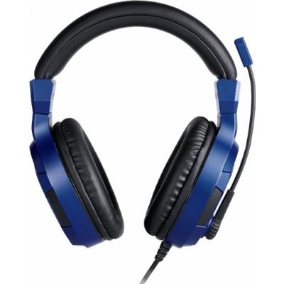 Геймърски слушалки Nacon Bigben PS4 Official Headset V3 Blue, Микрофон, Син