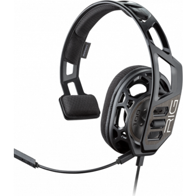 Геймърски слушалки Plantronics RIG 100HC, Микрофон, Черен