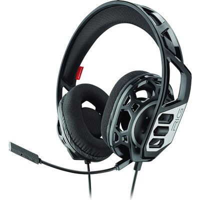 Геймърски слушалки Plantronics RIG 300HC, Микрофон, Черен/Сребрист