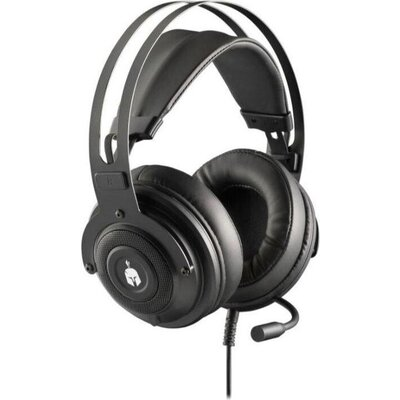 Геймърски слушалки Spartan Gear Phoenix 2, Микрофон, Черен