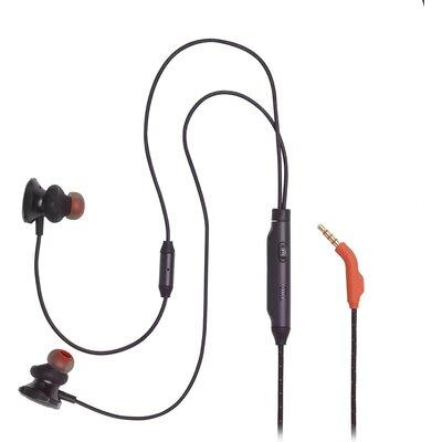 Геймърски слушалки тапи с микрофон JBL Quantum 50, Черен