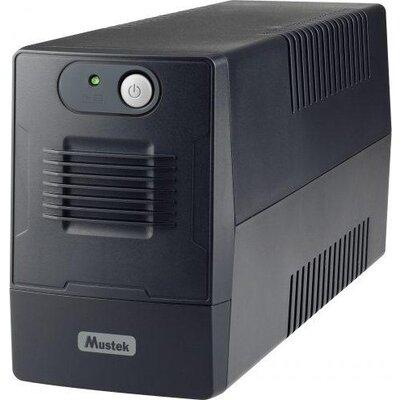 UPS MUSTEK PowerMust 600EG, 650VA/360W, Schuko (шуко), Line-Interactive