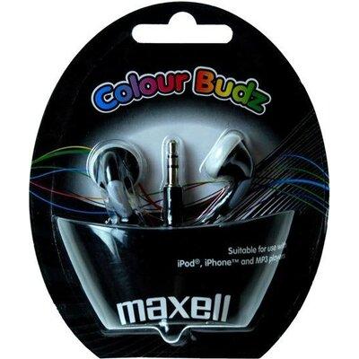 Слушалки  MAXELL Colour BUDZ, In-Ear, Черен