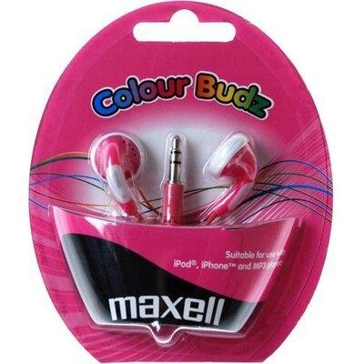 Слушалки  MAXELL Colour BUDZ , In-Ear, Розов